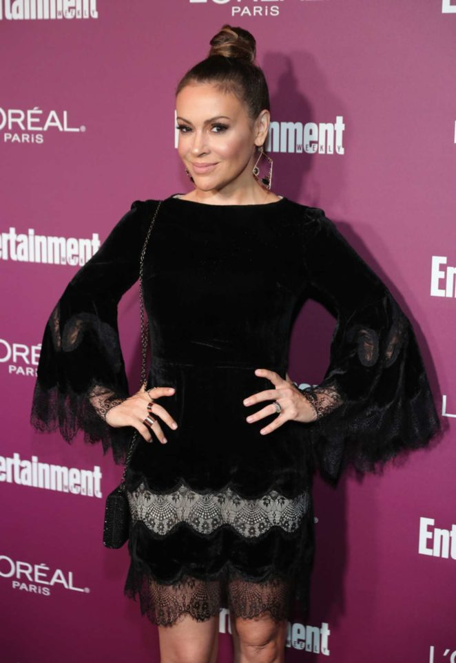 Alyssa Milano - 2017 Entertainment Weekly Pre-Emmy Party in West Hollywood