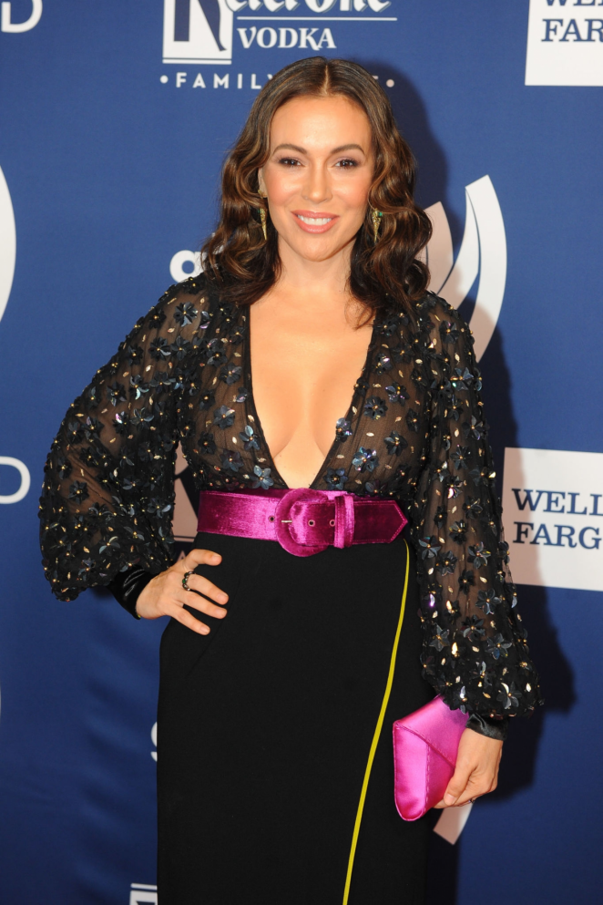 Alyssa Milano - 2018 GLAAD Gala San Francisco in San Francisco