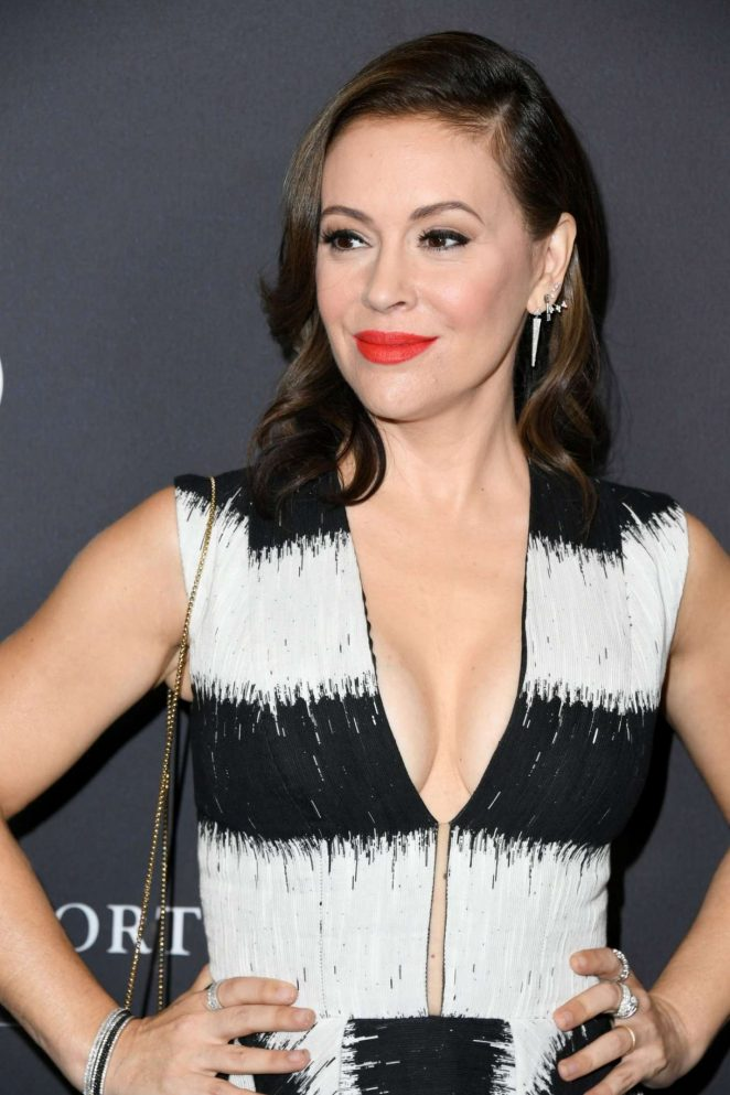 Alyssa Milano - 2018 Variety's Power Of Women: Los Angeles in Beverly Hills