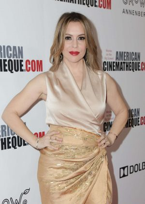 Alyssa Milano - 32nd American Cinematheque Award Presentation in Beverly Hills