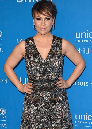 Alyssa Milano - 6th Biennial UNICEF Ball in Beverly Hills