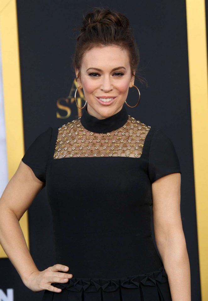 Alyssa Milano - 'A Star is Born' Premiere in LA
