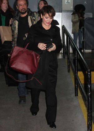 Alyssa Milano - Arrives at Huffington Post Live in New York City