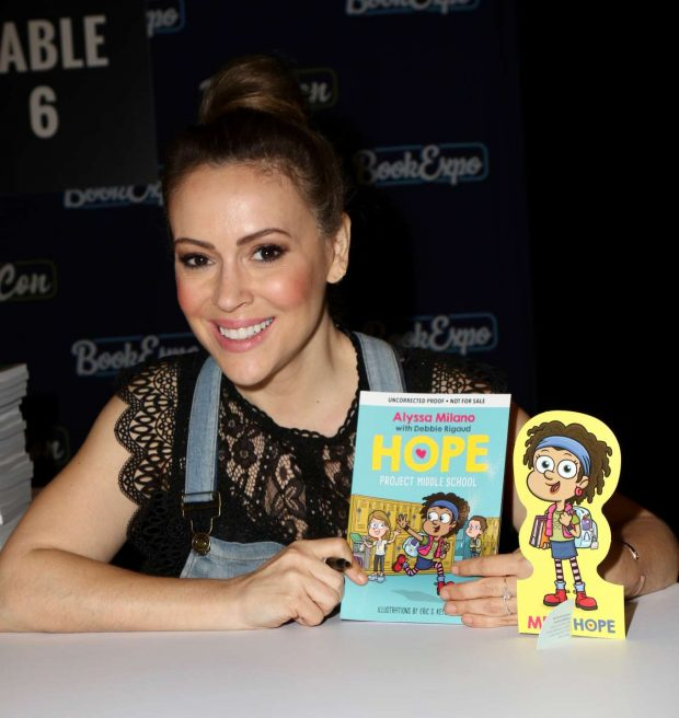 Alyssa Milano - BookCon 2019 in New York City