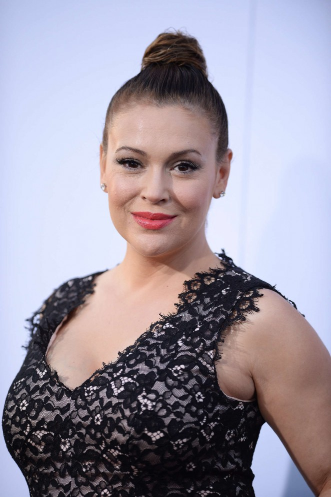 "Alyssa Milano - ""Get Hard"" Premiere in Hollywood"