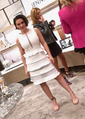 Alyssa Milano - Jennifer Lopez and Giuseppe Zanotti Celebrate New Shoe Collaboration in Beverly Hills