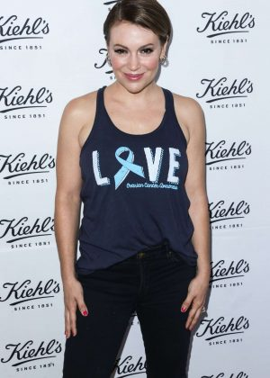 Alyssa Milano - Kiehl's LifeRide For The Ovarian Cancer Research Fund Alliance in LA