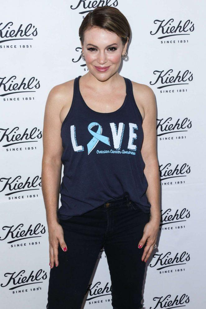 Alyssa Milano – Kiehl's LifeRide For The Ovarian Cancer Research Fund Alliance in LA