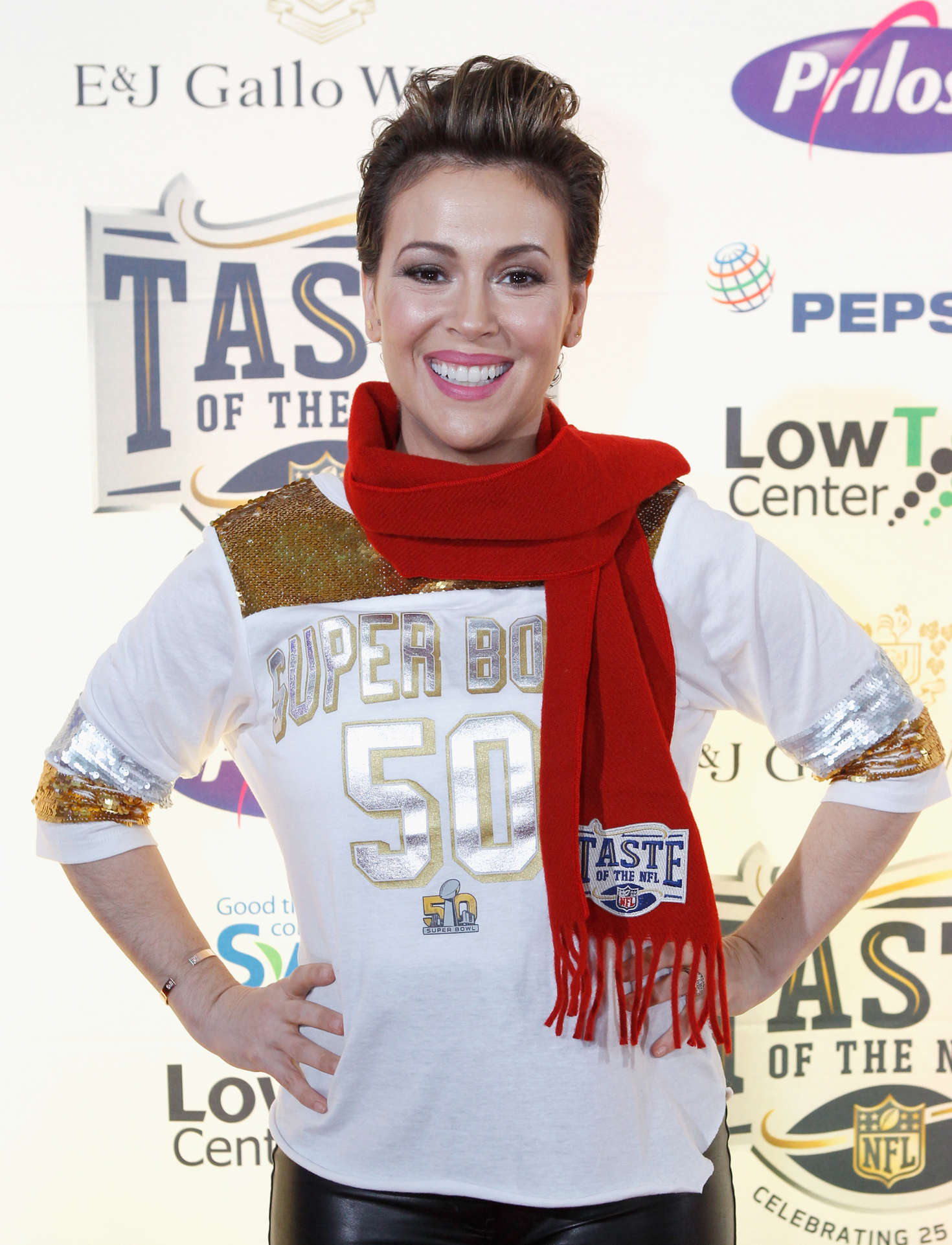 Alyssa Milano - Taste Of The NFL 25th Anniversary Party With A Purpose In San Francisco
