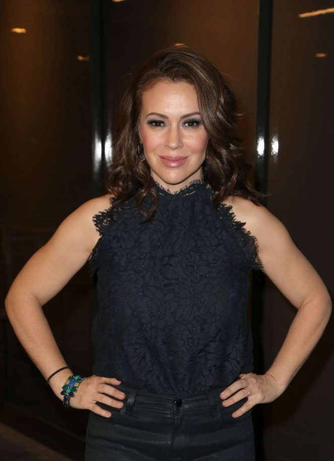 Alyssa Milano - Thewrap's Power Women's Summit in Los Angeles