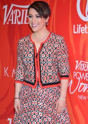 Alyssa Milano - Variety's Power Of Women New York 2016 in NY