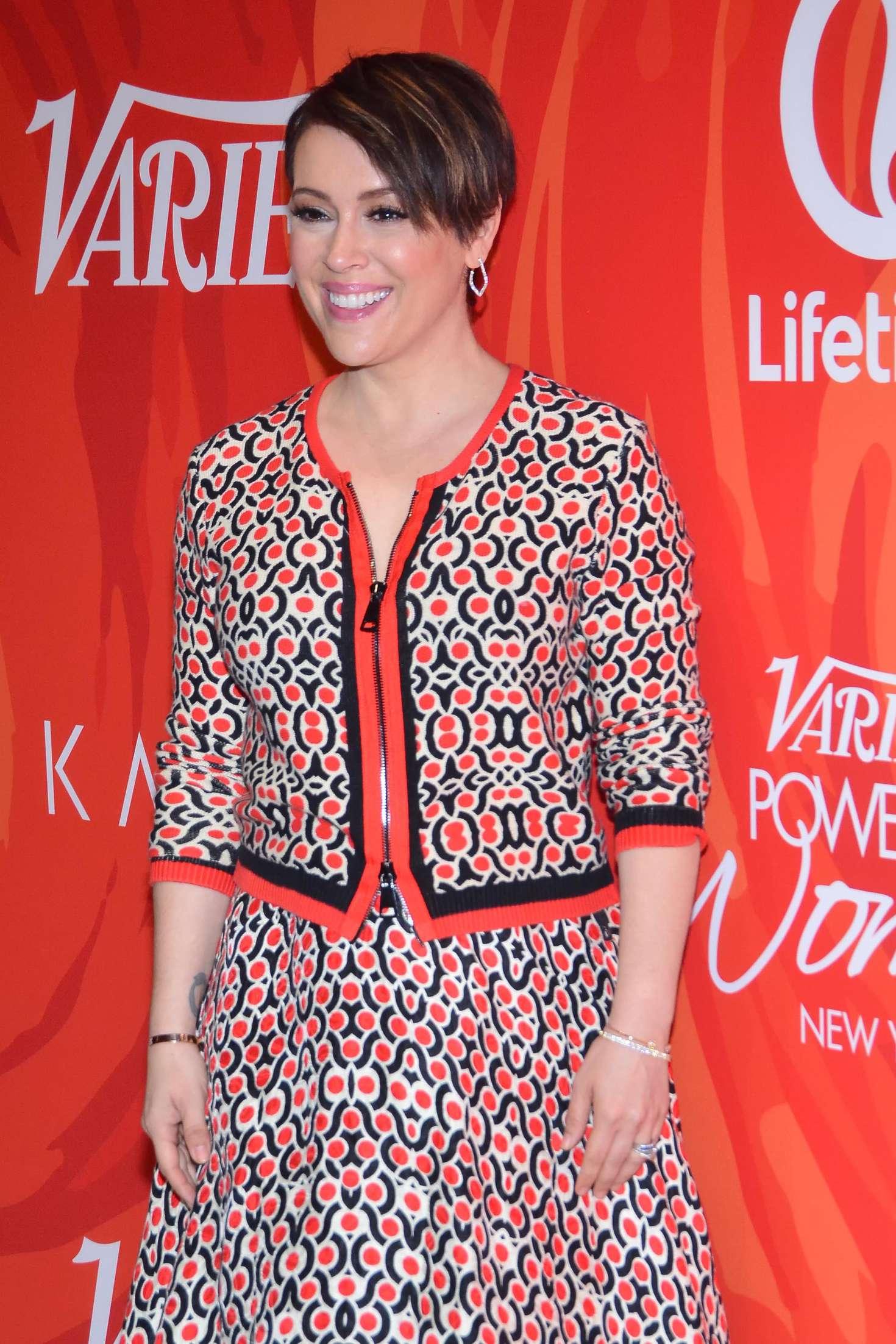 Alyssa milano variety 39 s power of women new york 2016 in ny for Milano 2016