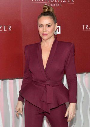 Alyssa Milano – VH1 Trailblazer Honors in Los Angeles