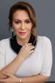 Alyssa Milano - Working Mother Magazine (October 2019)