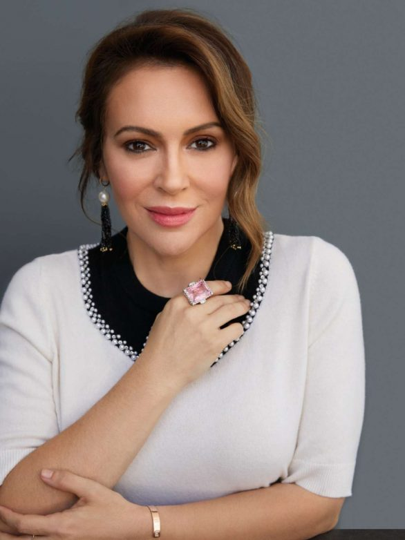 Alyssa Milano - Working Mother Magazine (October 2019)