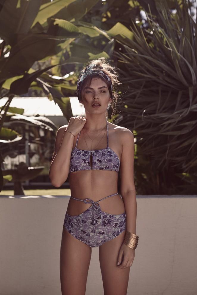 Alyssa Miller – For Love and Lemons Swim Debut Collection Resort 2016
