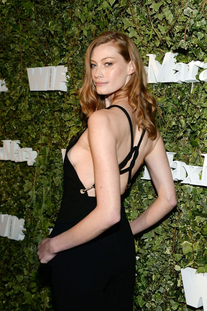 SYDNEY, AUSTRALIA - AUGUST 31: Model Alyssa Sutherland attends a photo call  to promote