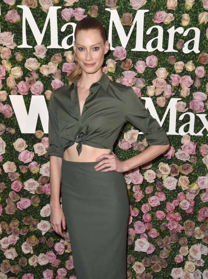 Alyssa Sutherland - 2017 Women In Film Max Mara Face of the Future Awards in LA