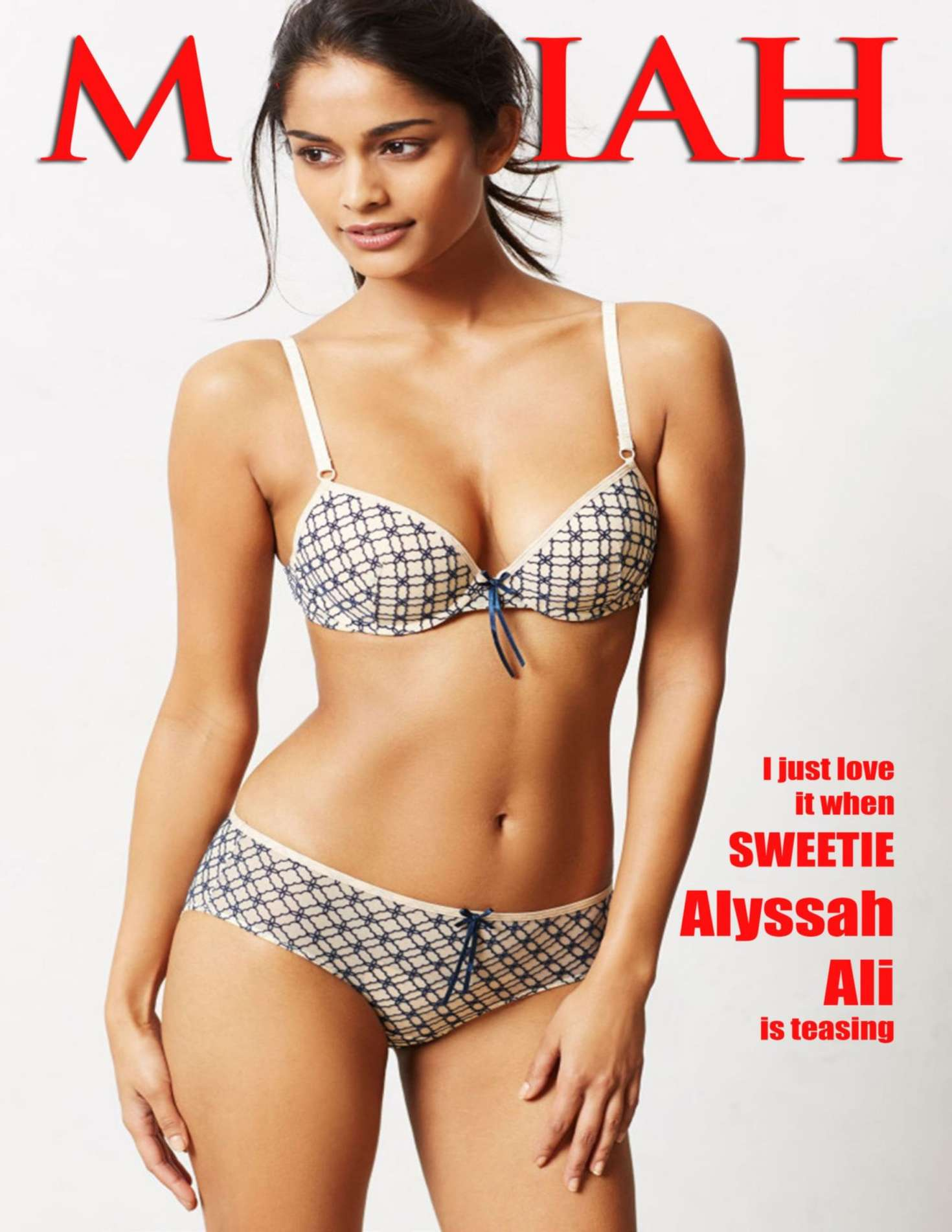 Alyssah Ali - Mariah US Magazine (January 2017)
