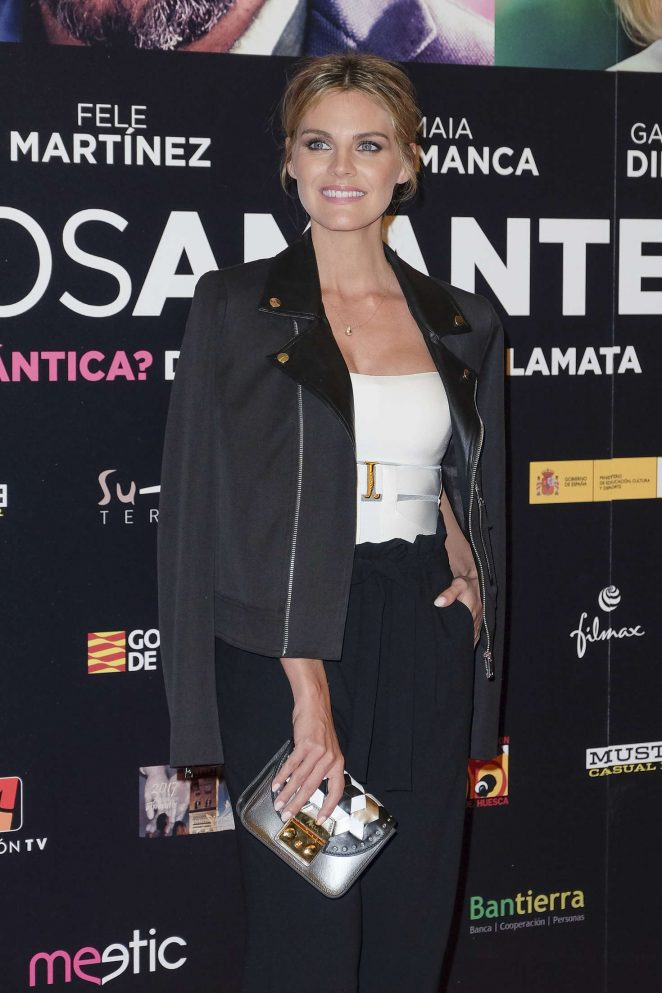 Amaia Salamanca - 'Our Lovers' Premiere in Madrid