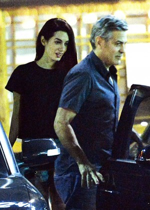 Amal Clooney at Asanebo Sushi in Studio City