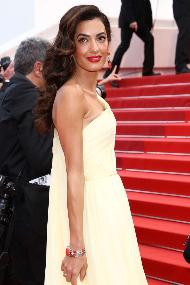 Amal Clooney - 'Money Monster' Premiere at 2016 Cannes Film Festival