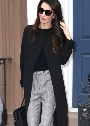 Amal Clooney out and about in New York City