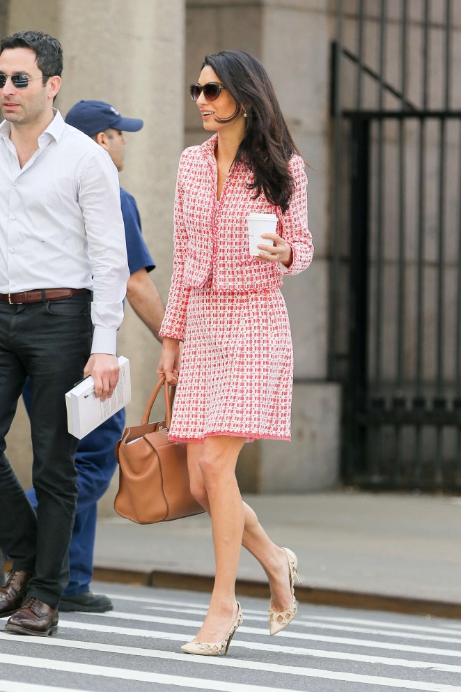 Amal Clooney: Out in NYC -04