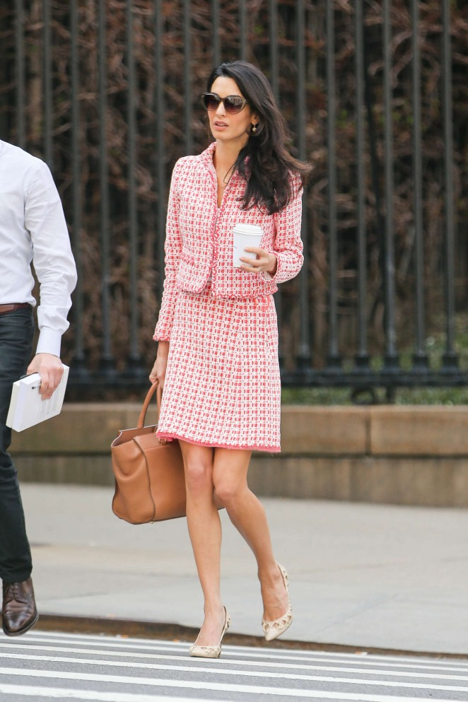Amal Clooney: Out in NYC -11