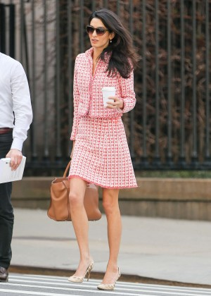 Amal Clooney - Out and about in NYC