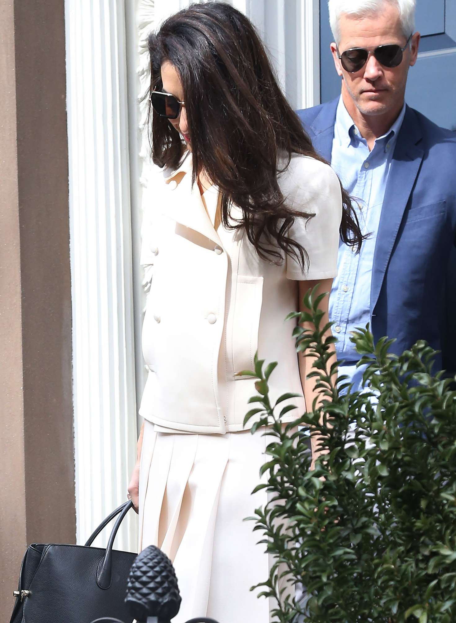 Amal Clooney out in New York City