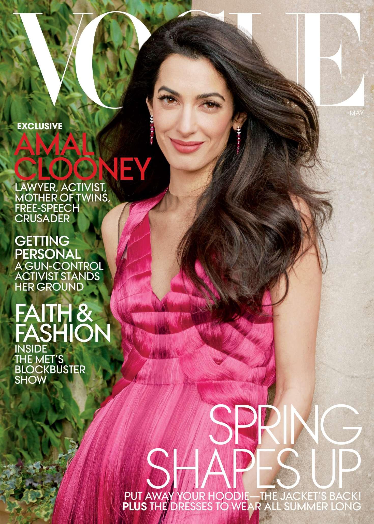 Amal Clooney - Vogue US Magazine (May 2018)