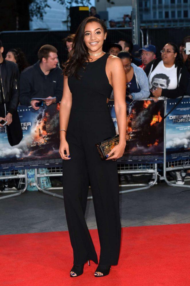 Amal Fashanu - 'Deepwater Horizon' Premiere in London