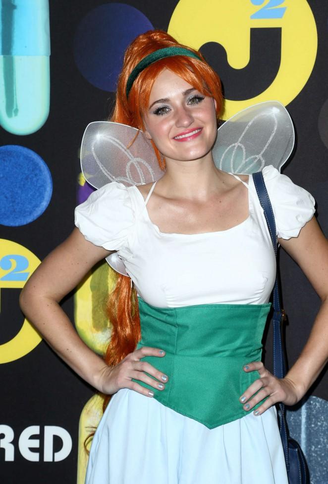 Amanda AJ Michalka - Just Jared Halloween Party in Hollywood