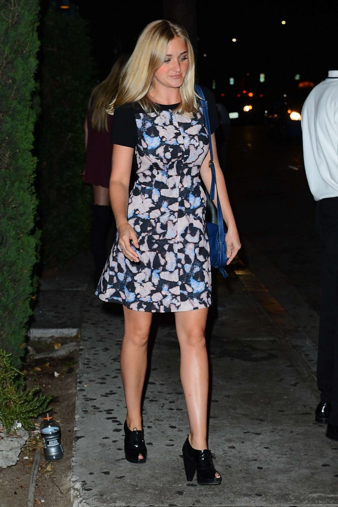 Amanda Aj Michalka – Just Jared's Way to Wonderland Party in West Hollywood