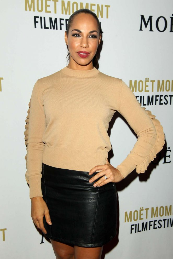 Amanda Brugel - 2018 Moet Moment Film Festival in LA