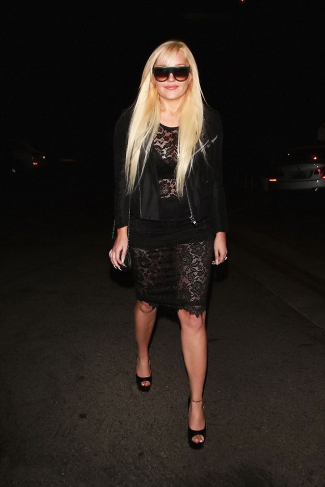 Amanda Bynes - Diana Madison's Holiday party in West Hollywood