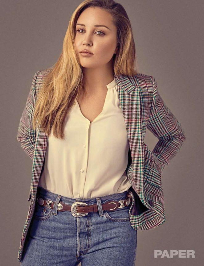Amanda Bynes for Paper Magazine 2018
