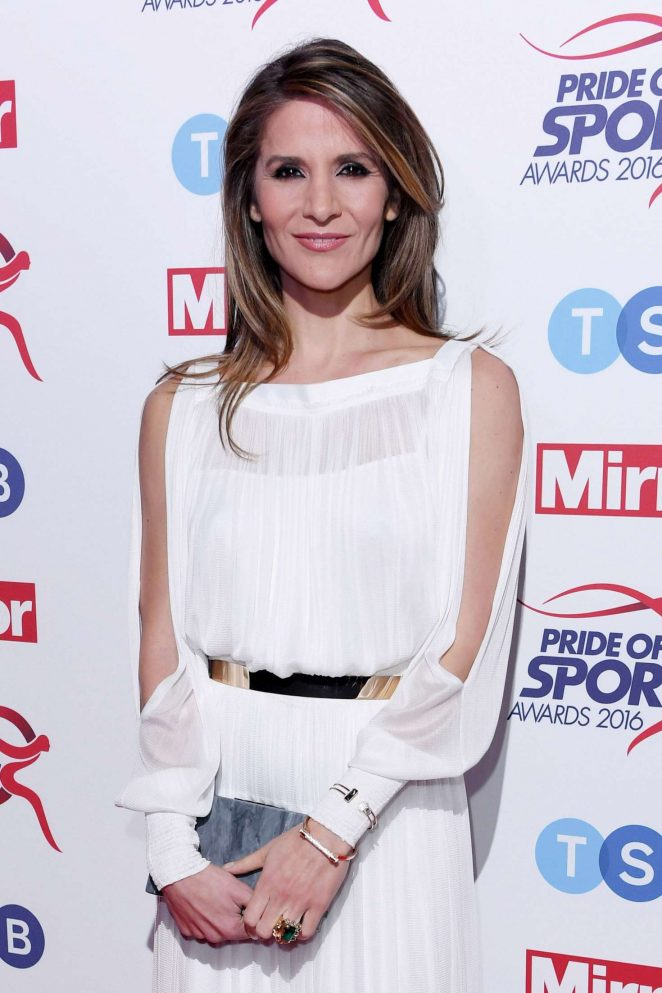 Amanda Byram - Pride of Sports Awards 2016 in London