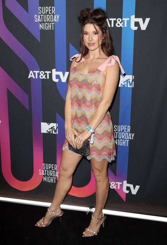 Amanda Cerny - AT&T Super Saturday Night in Miami