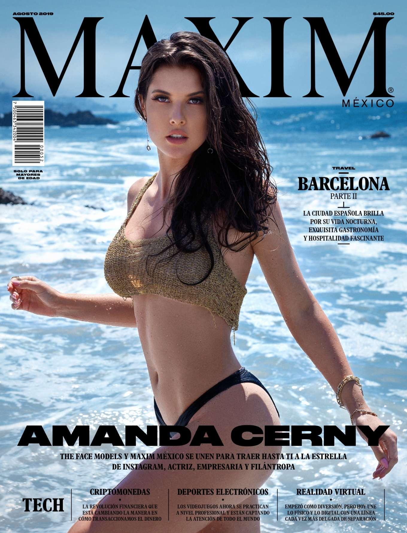 Amanda Cerny - Maxim Mexico Magazine (August 2019)