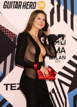Amanda Cerny - 2015 MTV European Music Awards in Milan