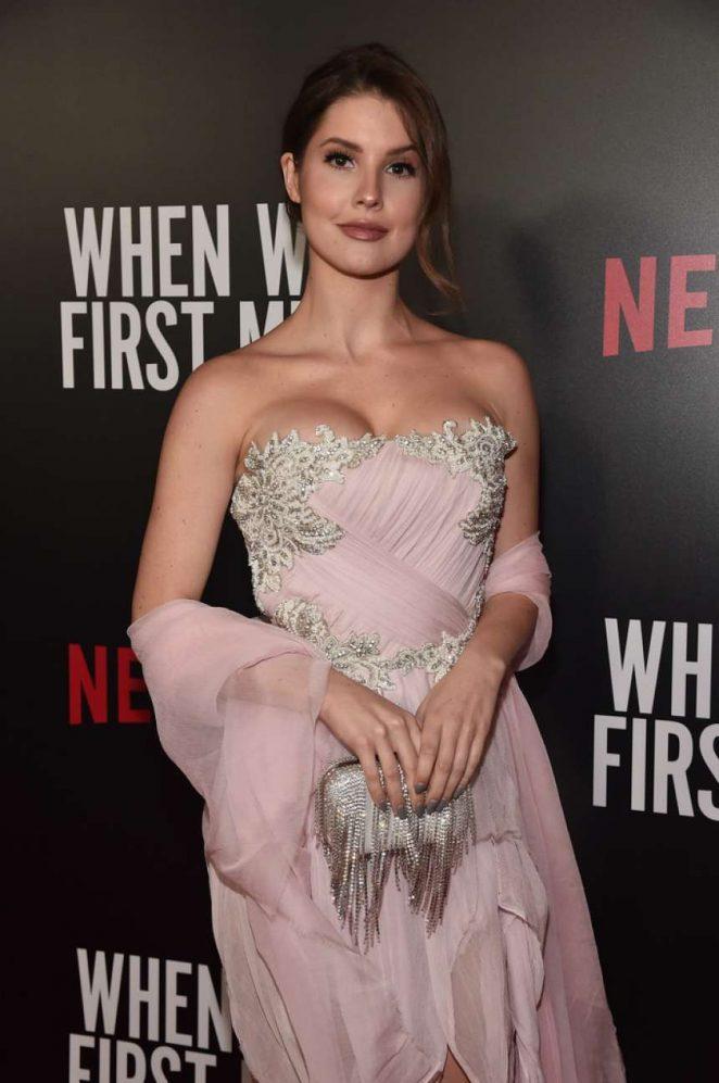 Amanda Cerny - 'When We First Met' Premiere in Los Angeles