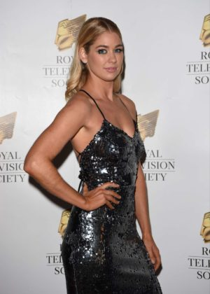 Amanda Clapham - 2017 Royal Television Society Awards in Manchester