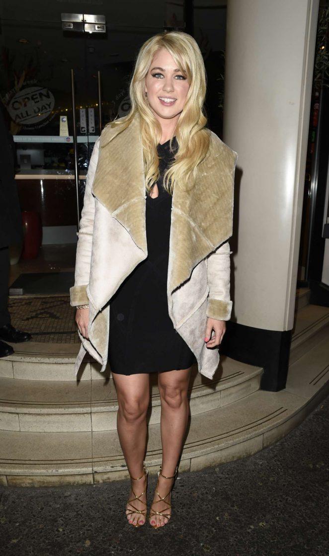 Amanda Clapham at San Carlo Restaurant in Manchester