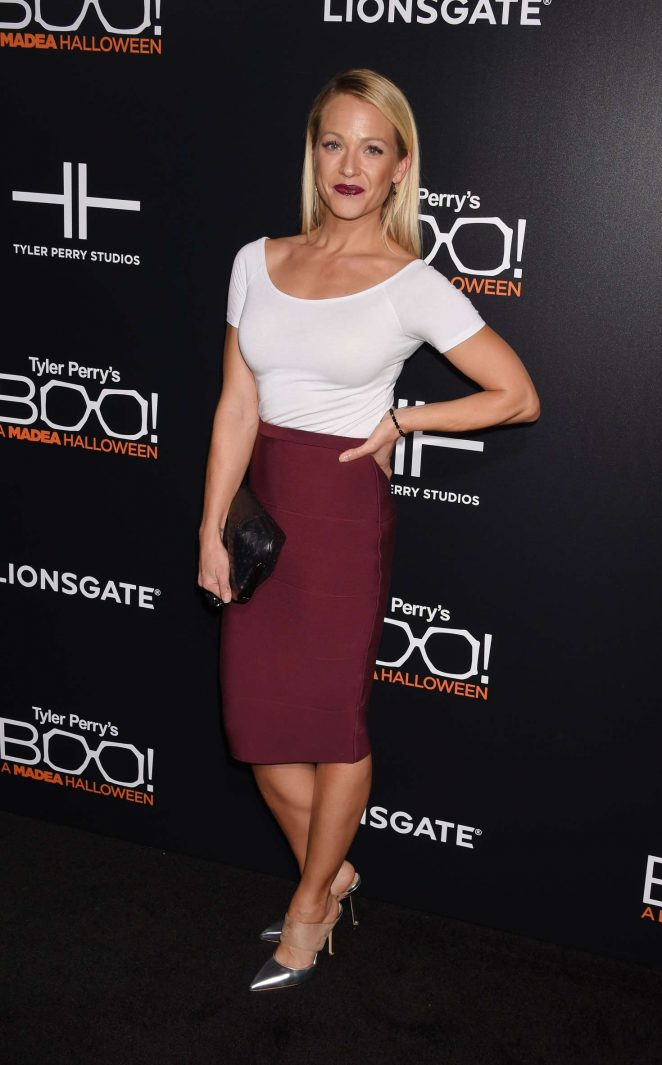 Amanda Clayton – 'Boo! A Madea Halloween' Premiere in Hollywood