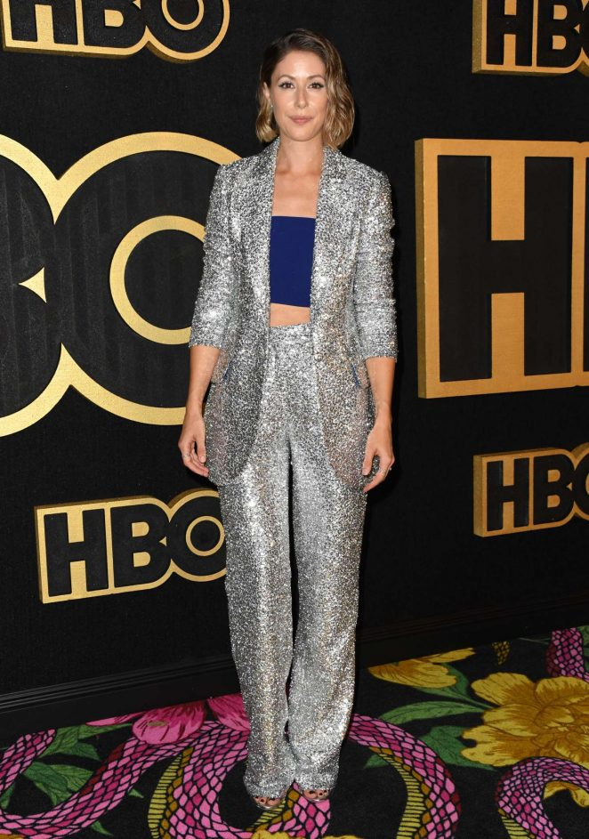 Amanda Crew - 2018 Emmy Awards HBO Party in LA