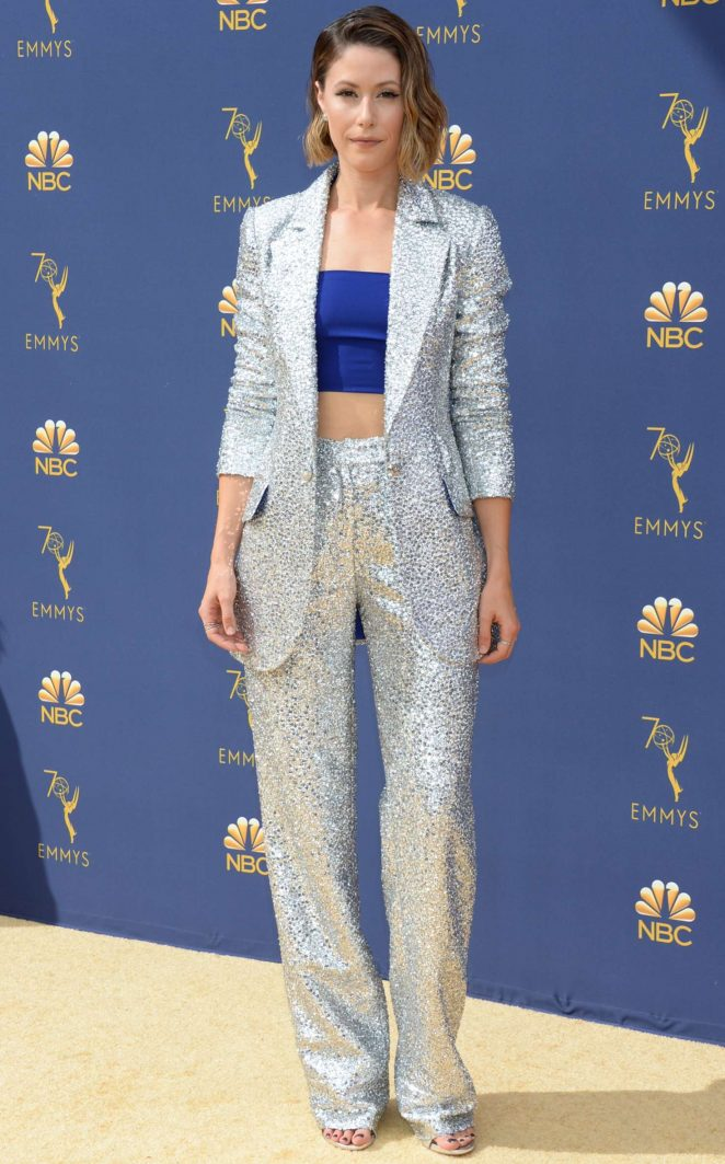Amanda Crew - 2018 Emmy Awards in LA