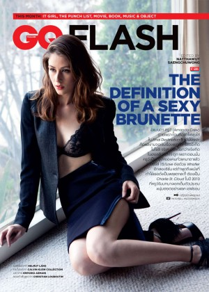 Amanda Crew - GQ Thailand Magazine (April 2015)