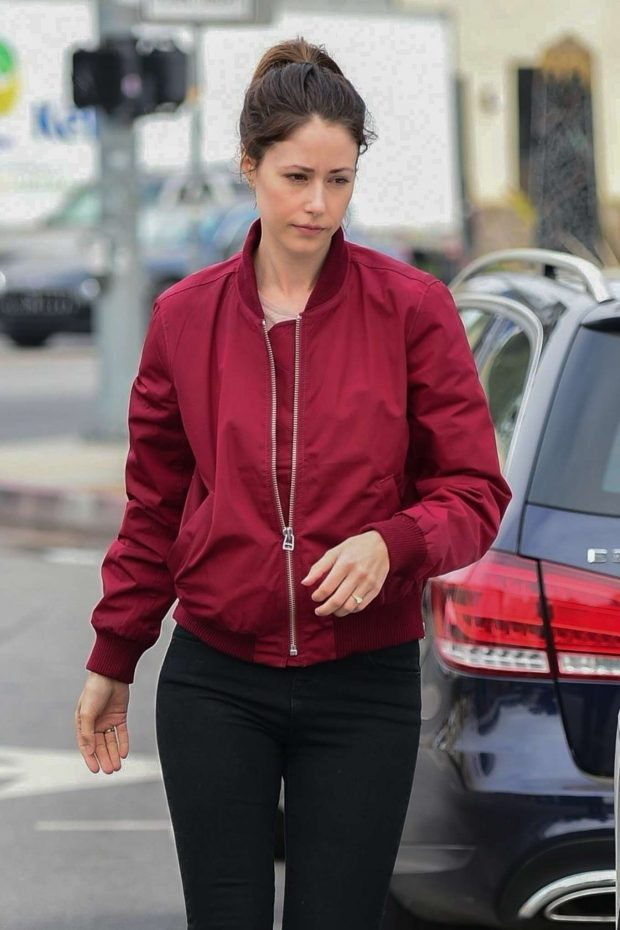 Amanda Crew - Shopping in Studio City